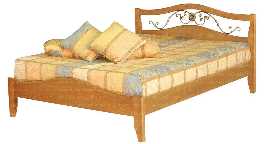 Кровати из сосны от производителя по низким м москва