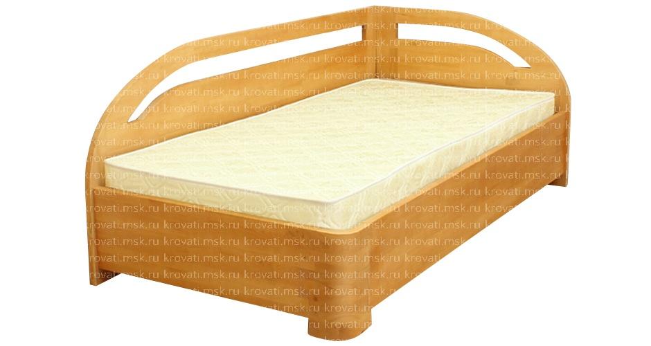 Кровать из массива дерева   с матрасом